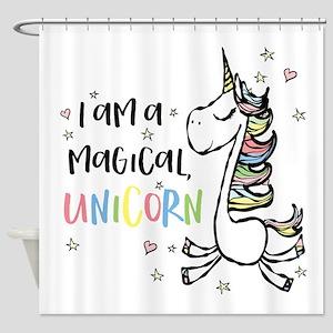 I am a Unicorn Shower Curtain
