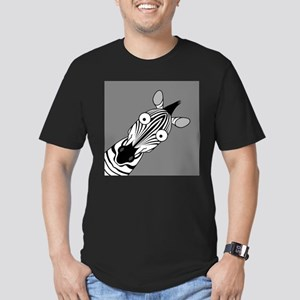 Happy Zebra Ash Grey T-Shirt