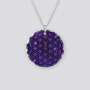 Flower Of Life Motif Necklace