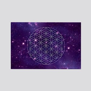Flower Of Life Motif Magnets