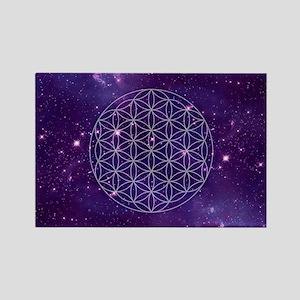 Flower Of Life Motif Magnets