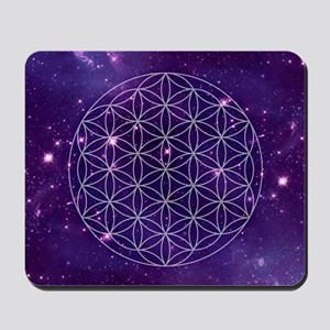 Flower Of Life Motif Mousepad