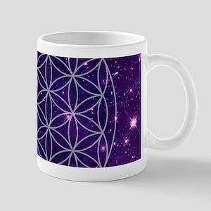 Flower Of Life Motif Mugs