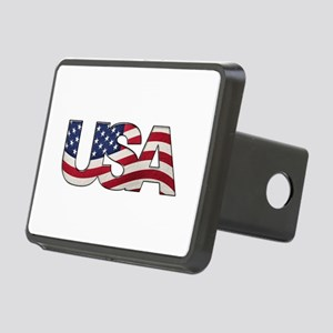 Cool USA signage with real Rectangular Hitch Cover