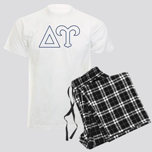 Delta Upsilon Letters Men's Light Pajamas
