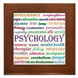 Psychology Framed Tiles