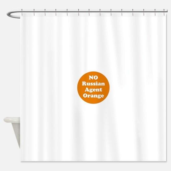 No Russian agent orange,never trump Shower Curtain