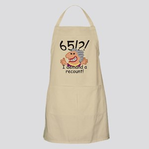 Recount 65th Birthday Apron