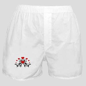 Personalized Skunks In Love Boxer Shorts