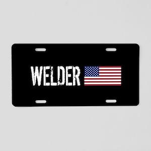 Welding: Welder (American F Aluminum License Plate