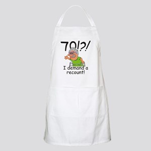 Recount 70th Birthday Funny Old Lady Apron
