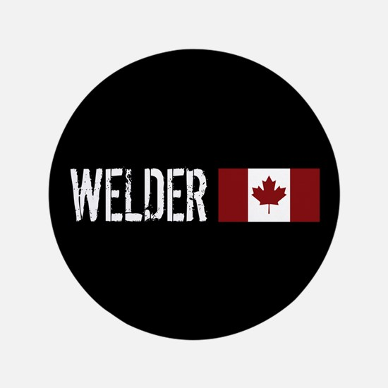 "Welding: Welder (Canadian F 3.5"" Button (100 pack)"
