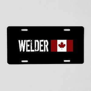 Welding: Welder (Canadian F Aluminum License Plate
