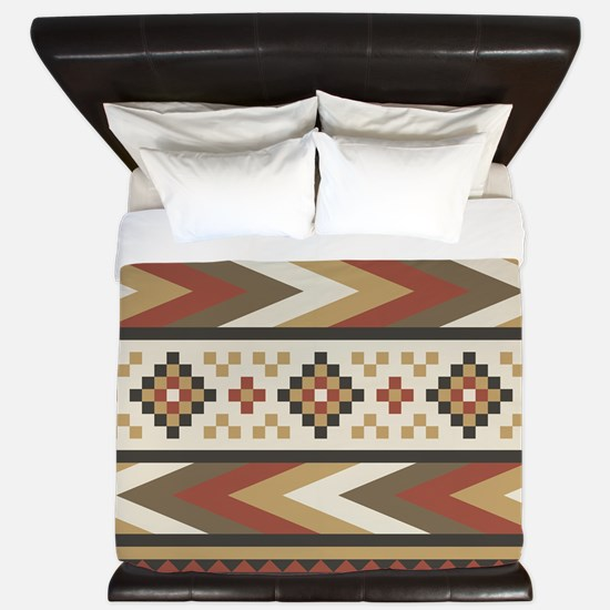 Navajo Southwestern King Duvet