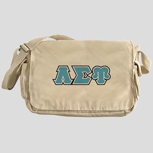 Lambda Sigma Upsilon Initials Messenger Bag