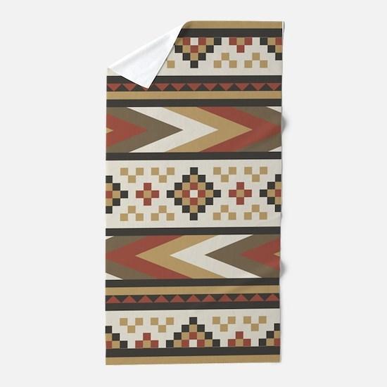 Navajo Southwestern Beach Towel