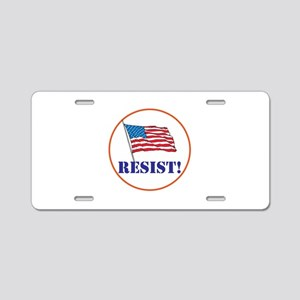 Resist! Stand up for justice Aluminum License Plat