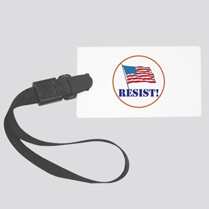 Resist! Stand up for justice Luggage Tag
