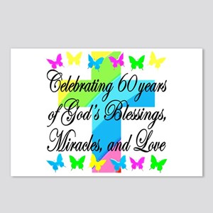 BLESSED 60TH Postcards (Package of 8)