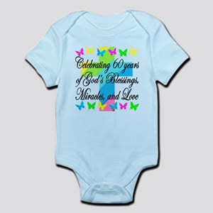 BLESSED 60TH Infant Bodysuit