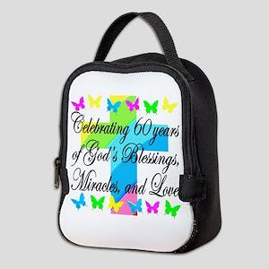 BLESSED 60TH Neoprene Lunch Bag