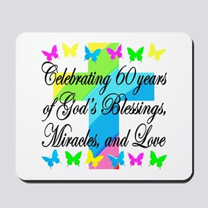 BLESSED 60TH Mousepad