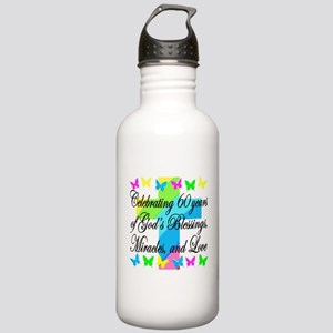 BLESSED 60TH Stainless Water Bottle 1.0L