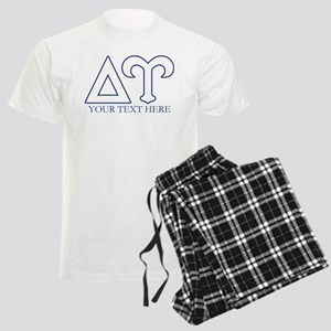 Delta Upsilon Personalized Men's Light Pajamas