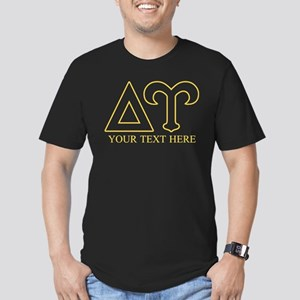 Delta Upsilon Personal Men's Fitted T-Shirt (dark)