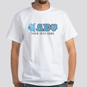 Lambda Sigma Upsilon Initials Person White T-Shirt