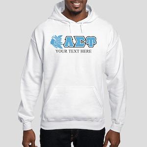Lambda Sigma Upsilon Initials Pe Hooded Sweatshirt