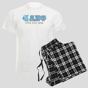 Lambda Sigma Upsilon Initials Men's Light Pajamas