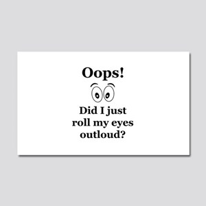 Oops! Car Magnet 20 x 12