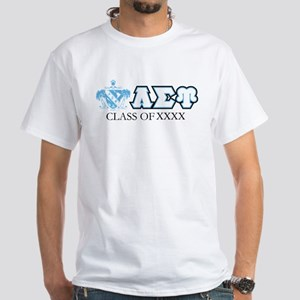 Lambda Sigma Upsilon Class of XXXX P White T-Shirt