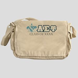 Lambda Sigma Upsilon Class of XXXX P Messenger Bag