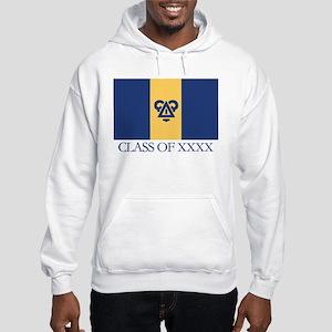 Delta Upsilon Class Of Hooded Sweatshirt