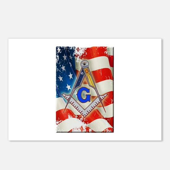 Cute Masonic Postcards (Package of 8)