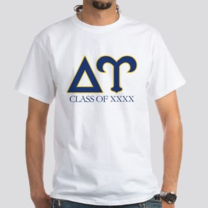 Delta Upsilon Personalized White T-Shirt
