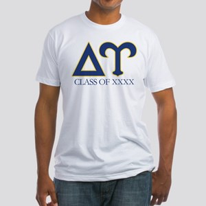 Delta Upsilon Personalized Fitted T-Shirt