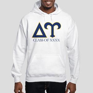 Delta Upsilon Personalized Hooded Sweatshirt