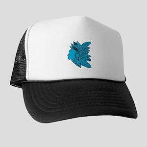 Lambda Sigma Upsilon Feathers Trucker Hat
