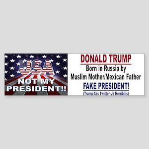 Bumper Sticker - Born In Russia