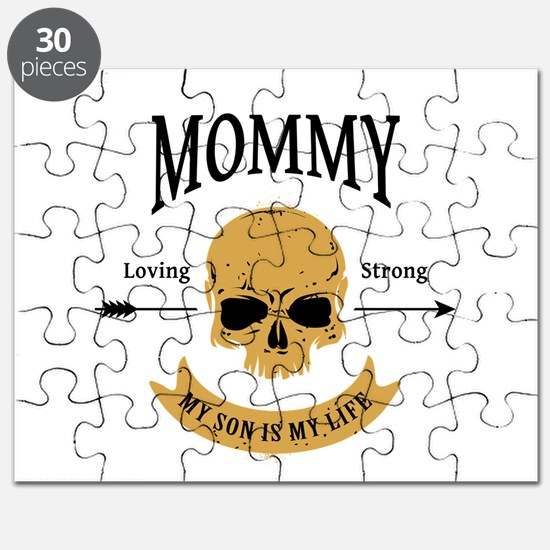 Mommy Son Skull Puzzle