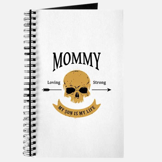Mommy Son Skull Journal