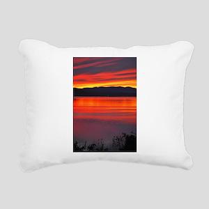 Just Breathe Cool Relax Rectangular Canvas Pillow