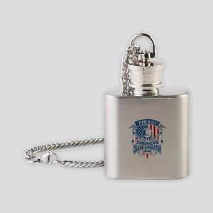 Crane Operator Flask Necklace