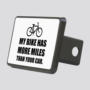 My Bike More Mileage Than Car Hitch Cover