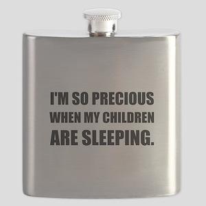 So Precious Children Sleeping Flask