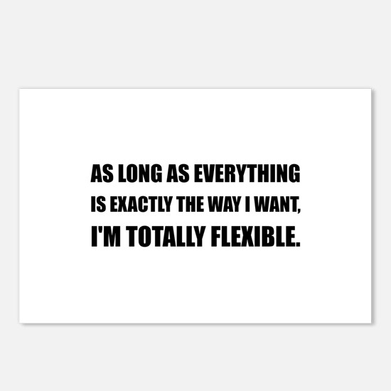 The Way I Want Totally Flexible Postcards (Package