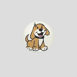 Cute Puppy Mini Button